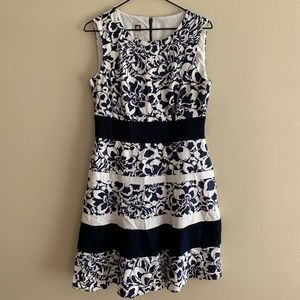 Beautiful Floral Summer Nights Dress